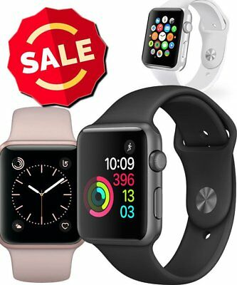 Apple Watch Series 1 38MM 42MM Aluminum Stainless Steel Case Sport Nylon Band