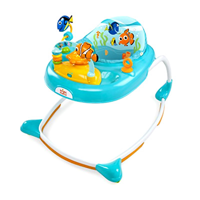 Brand New Disney Baby Finding Nemo Sea and Play Walker, Blue