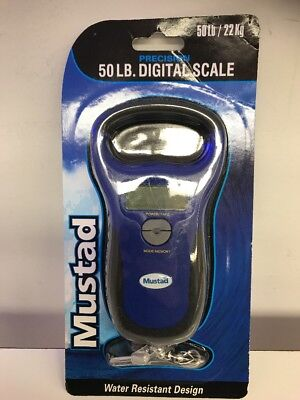 New Mustad MT-50DSCL 50LB Digital Fish Scale