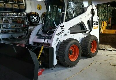 S185 bobcat skid steer with attachments