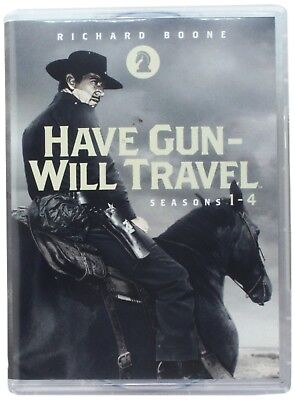 Have Gun Will Travel: Western TV Series Complete Seasons 1 2 3 4 Boxed DVD Set