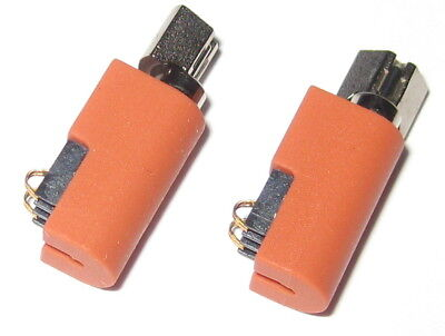 2 X Pager and Cell Phone Vibrating Micro Motors - 1 to 4.5 V - 17 mm x 7 mm
