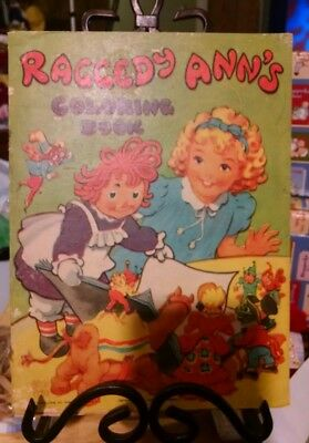 Raggedy Anns 1945 Coloring book