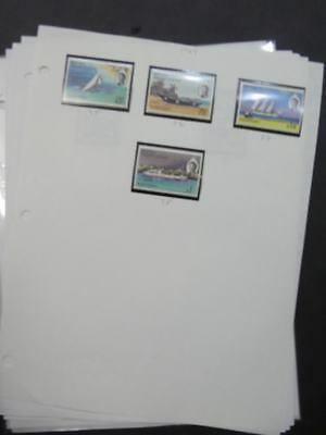 EDW1949SELL : BR. OMNIBUS Nice collection of Ships. All Cplt MNH sets. Cat $156