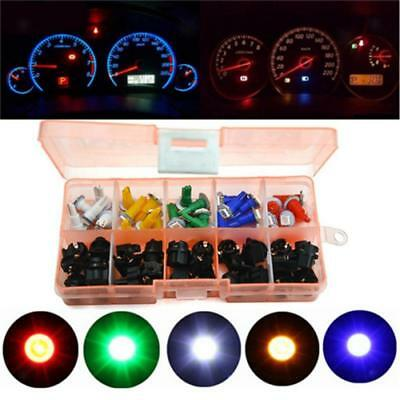 30 Set T5 5050 SMD LED Luce Di Pannello Cruscotto Luminoso Universale Moto