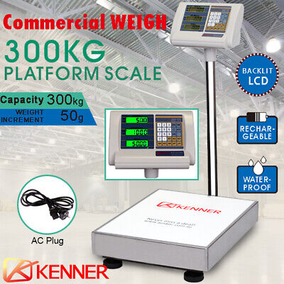 300kg Electronic Digital Platform Scale Computing Shop Postal Scales Weight