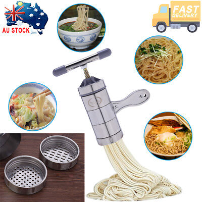 Home Kitchen Noodle Maker Machine Stainless Steel Pasta Fruit Juicer Spaghetti A