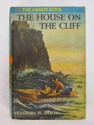Vintage The Hardy Boys by Dixon Volume #2 The House on the Cliff 1959
