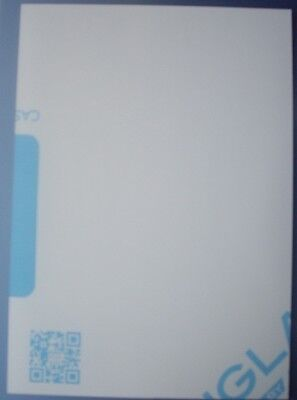 Clear Perspex Acrylic Plastic Sheet Laser Cut and Polished Panels A4 Size ~ 5mm