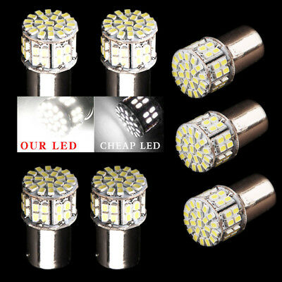 10X HID 1157 50SMD Tail Brake Stop Backup Reverse Light LED Bulbs White 1152 12V