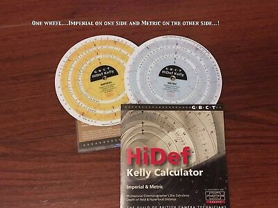 Kelly Wheel Hi-Def Depth-of-Field Calculator....NEW!!!