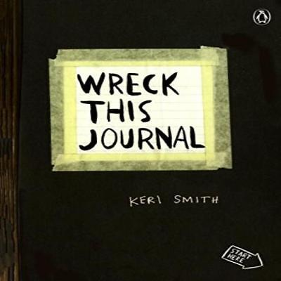 Wreck This Journal (Black) Expanded Ed. By Keri Smith : Paperback 0399161945 Cre