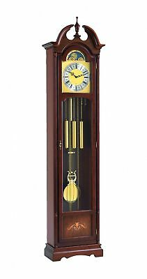 Grandfather clock walnut from Hermle HE 01221-030451 NEW