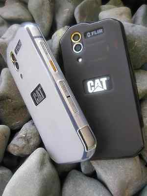 Caterpillar S60 Cat S60 Case 1 Smoke Black