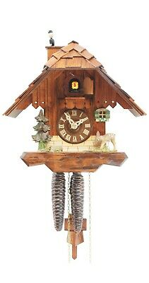 Cuckoo Clock Little black forest house RH 1113 NEW