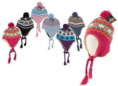 All Range Ladies, Mens, Kids Thermal Acrylic Knitted Hats Thermal Polar Fleece G