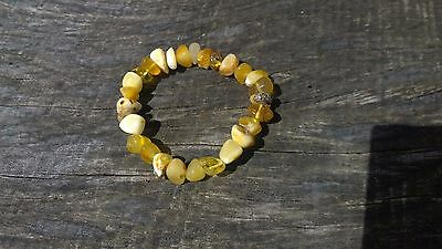 Natural Baltic stone amber bracelet