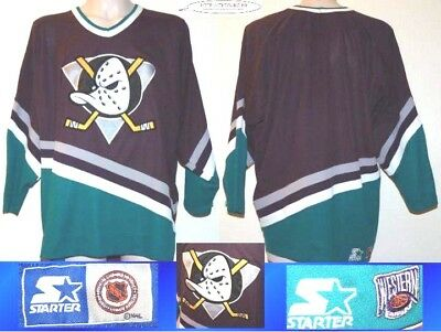 Maillot de hockey NHL Anaheim MIGHTYDUCKS DUCKS vintage M