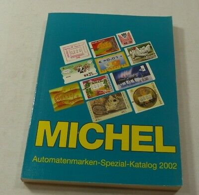 Michel stamp catalogue Automaten vending Machine stamps specialised 2002 edition