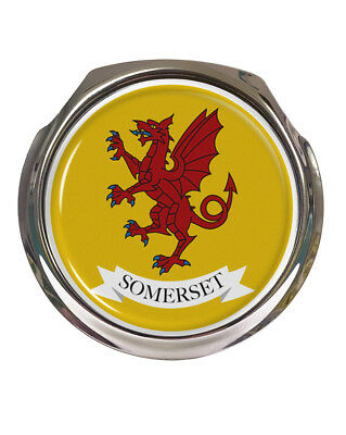 Somerset County Flag - Car Grille Badge - FREE FIXINGS