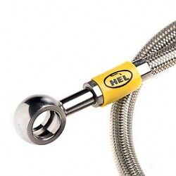 Hel Stainless Braided Clutch Line Hose 300Zx Z32 3.0 Turbo Master - Slave Cck107