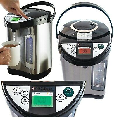 Instant Hot Water Boiler Dispenser Digital LCD 3.5L Rapid Tea Urn Perma Therm