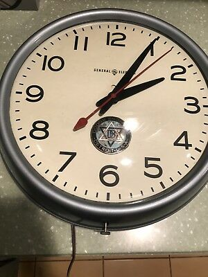 Vintage Dodge Brothers Dealership Clock GE