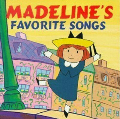 Madeline's Favorite Songs CD Super Rare 1995 I'm Madeline Holidays ABC KIDS