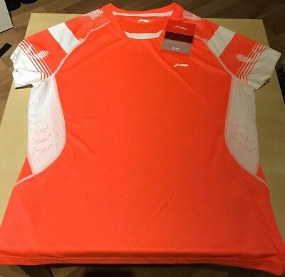 Li Ning Badmintontrikot Orange
