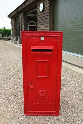 Very Large Antique Wall Mounted Post Boxes with Rear Door - Royal Mail ER II