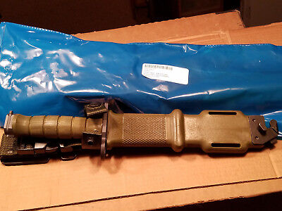 2 M9 Bayonet Fighting Knife w/Scabbard US Military Unissued Prepper (Two Knives)