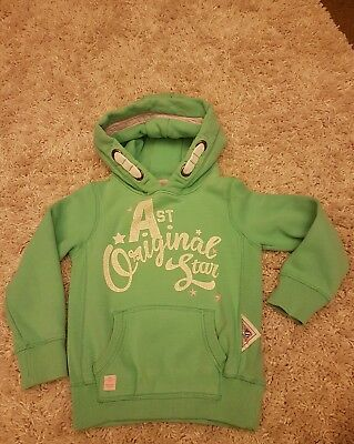 Next Girls Green Hoodie age 6yrs