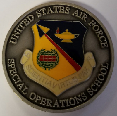 USAF US Air Force Special Operations Command Ops School
