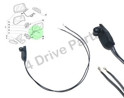 Renault Modus Clio Grand Scenic Outside Temperature Sensor Under Door Mirror