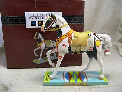 The Trail of Painted Ponies, Crow Warrior's Pride Figurine 1E/0847, 2015, NIB