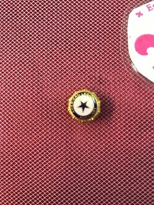 Vintage Gold American Legion Auxiliary Club Fraternal Pin or Tie Tack