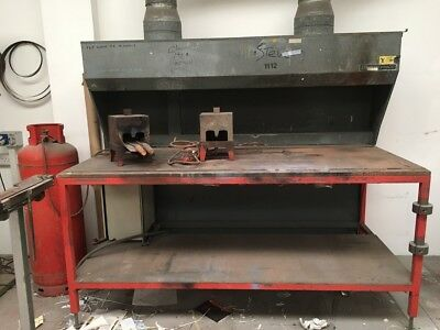 Fume Extraction Work Bench