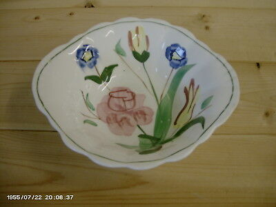 Blue Ridge Pottery Chintz LUGGED CEREAL BOWL MULTI COLOR