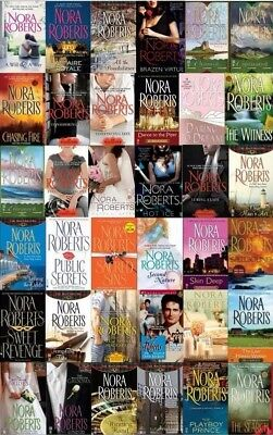 Nora Roberts - Complete bundle of 110 Audiobook Collection MP3-DVD