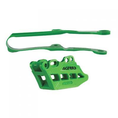 Acerbis Chain Guide and Slider Kit 2.0  Green 2449450006