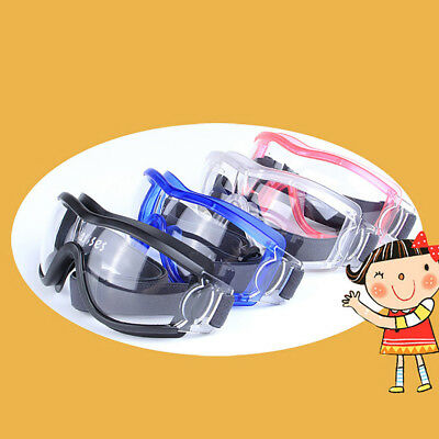 Kids Eye Protective Windproof Goggles Safety Cycling Sport Glass Eyewear Utility
