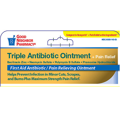 GNP Triple Antibiotic Ointment + Pain Relief 1 oz First Aid, Cuts Scrapes Burns