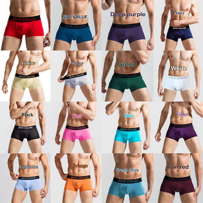 Jack Claude Men's Underwear Boxer Briefs Shorts Bulge Pouch Soft Underpants