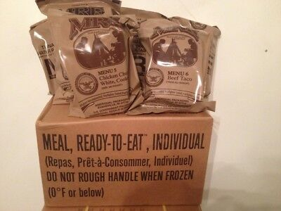 Food Ration MILITARY ARMY Daily Pack US MRE Emergency 2020 Insp Date
