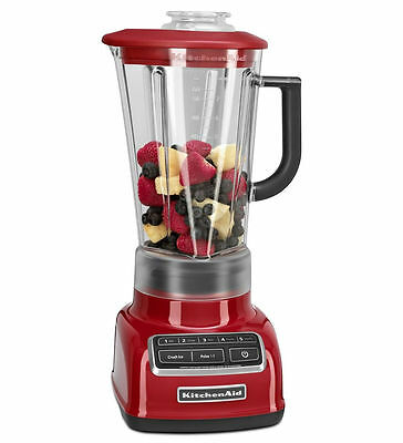 KitchenAid KSB1575ER 5-Speed Diamond Blender System Red Brand New! 60oz