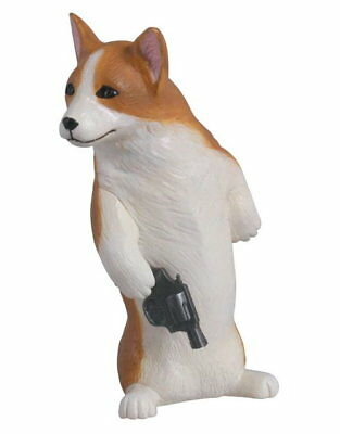 Takara Tomy SPY Animal Capsule model Collection Welsh Corgi CG Figure
