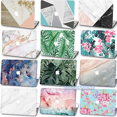 "Painting Plants Marble Matte HARD case Cover For New Macbook Air Pro 11""12""13""15"