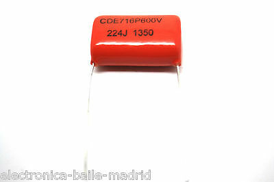 SPRAGUE ORANGE DROP 716P 0.22uF .22uF 600V FOR AMPLIFIER - VINTAGE FENDER