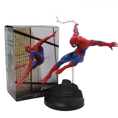 Super Hero Spiderman Series SPIDER-MAN PVC Action Figure Collectible Model Toy