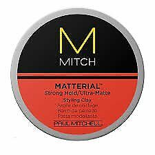 Dry Ultra-matte Finish Strong Hold MEN Hair Styling Clay 3 oz Modern Texture Loo